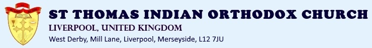 St Thomas Indian Orthodox Church – Liverpool, UK